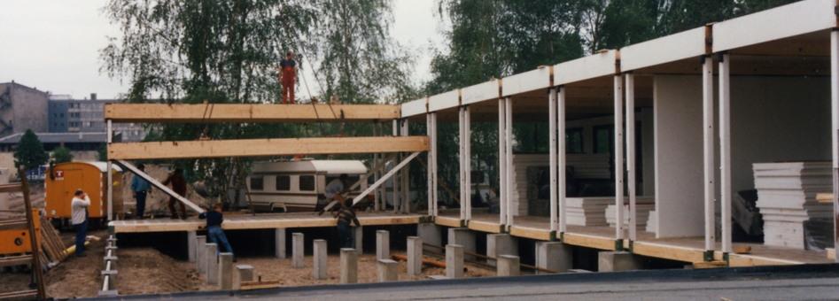 1988 … Unser Dorf wird gebaut …