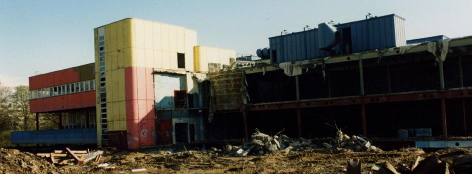 Mai 1994 … Unsere BUNTE KUH wird abgerissen …